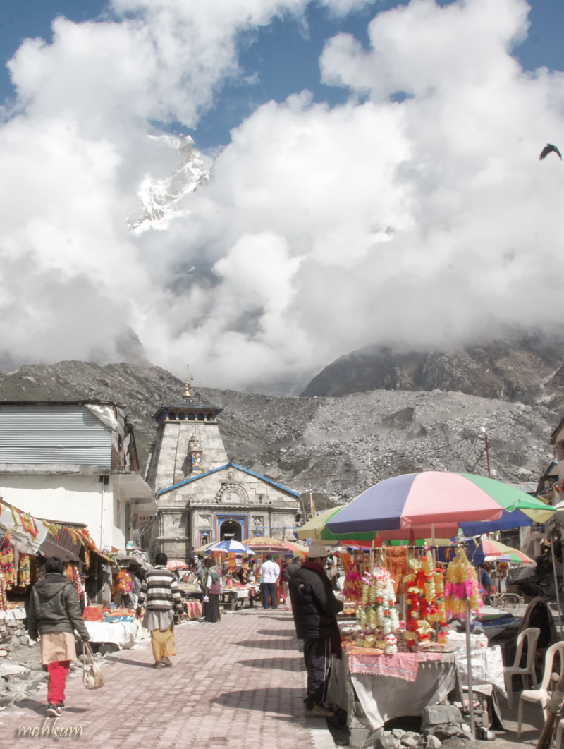 kedarnath temple mountain utharakhand