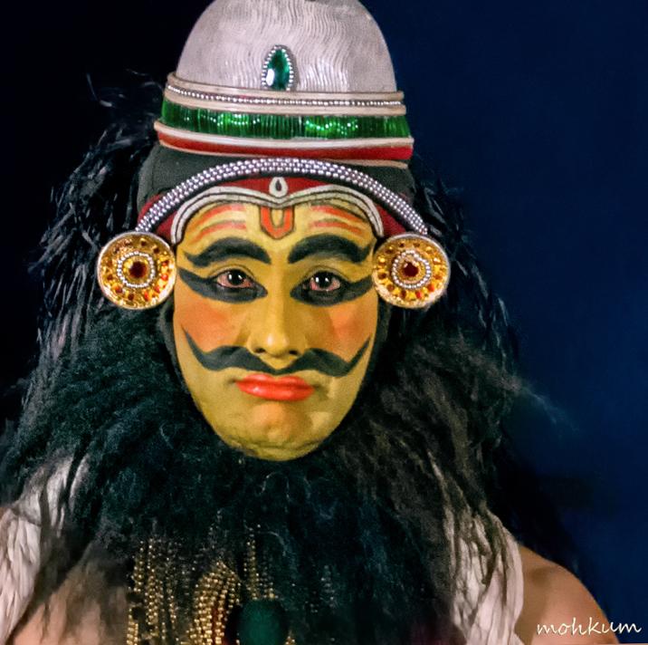 kathakali art shukran saint devayanicharitham