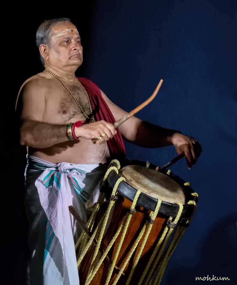 percussionist kathakali art kerala