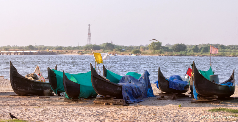 fishing boat beach fortkochi