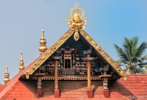 temple kerala architecture mughappu roof