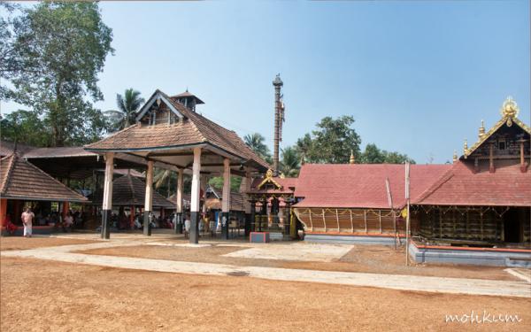temple dharmasastha anaprambal thalavady