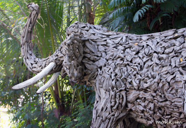 elephant art park thailand