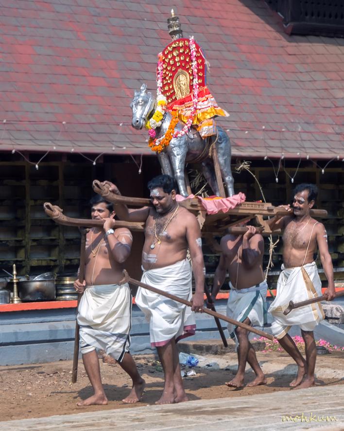 The temple festival!