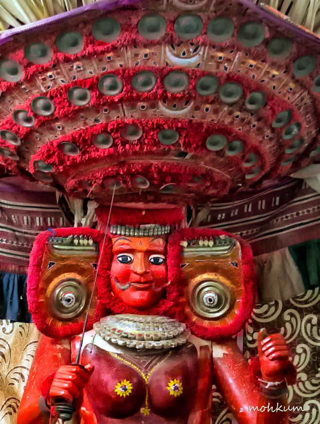 theyyam ritual worship art dance malabar
