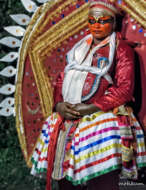theyyam art ritual