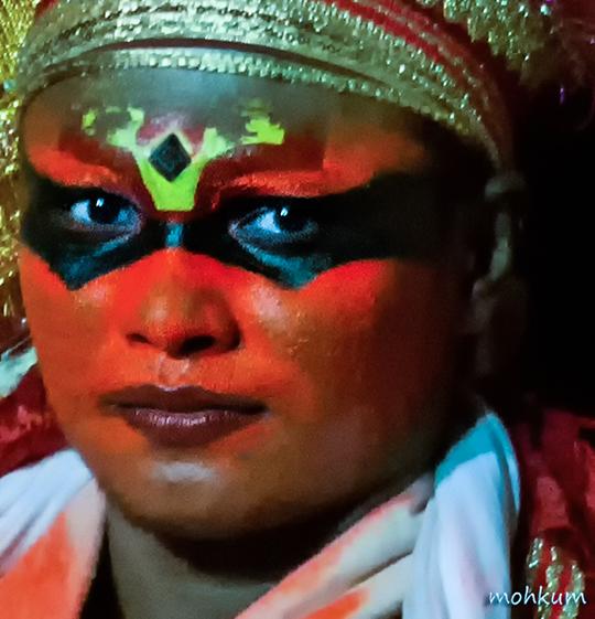 theyyam artist