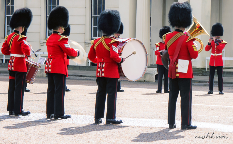 guard buckingham palace