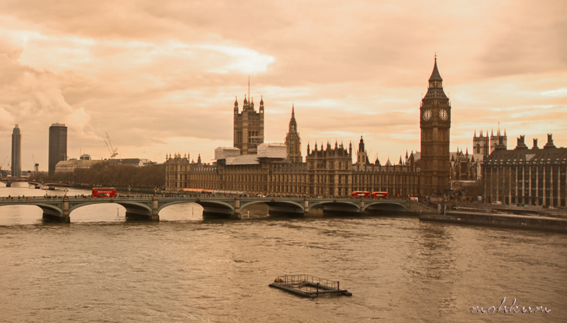 river thames bigben westminster bridge london