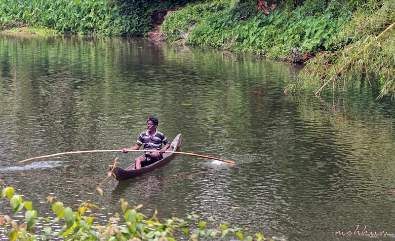 fisherman boat river plathanam thalavady kuttanad