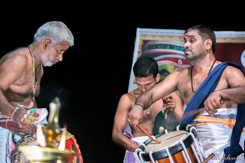 kathakali percussionist chenda maddalam