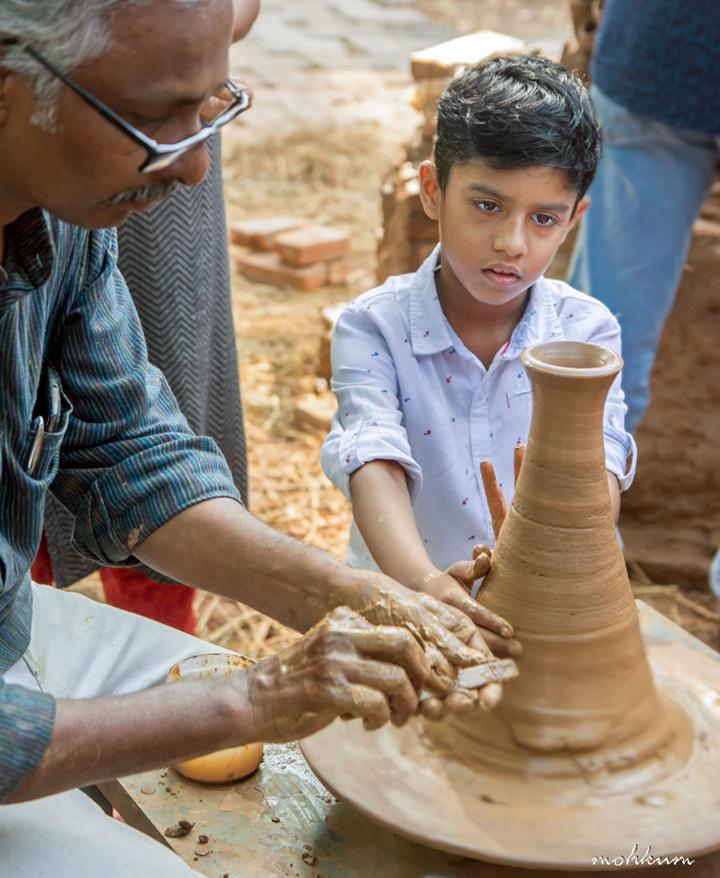 pottery workshop biennale kochi