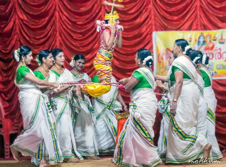 krishna gopika pinnal thiruvathira dance