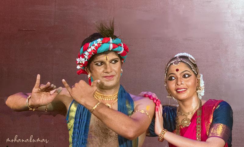 krishna radha dance onam koothambalam tripunithura