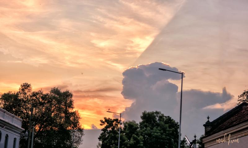 sunset sky chettinad