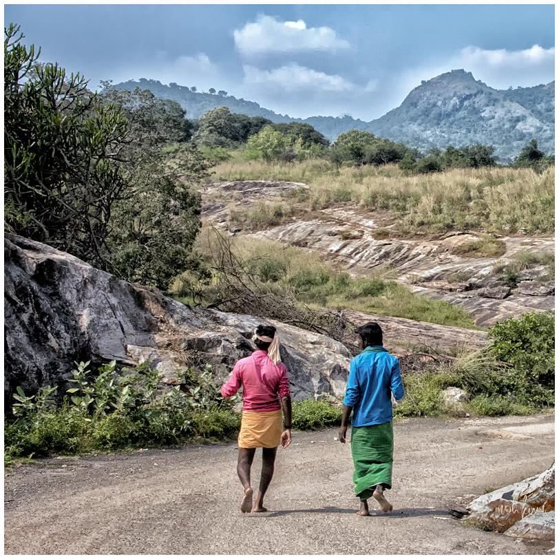 people clothing colour landscape tenkasi