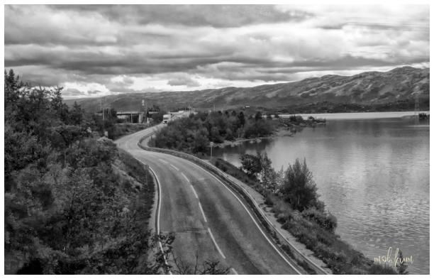 lake haugastol norway
