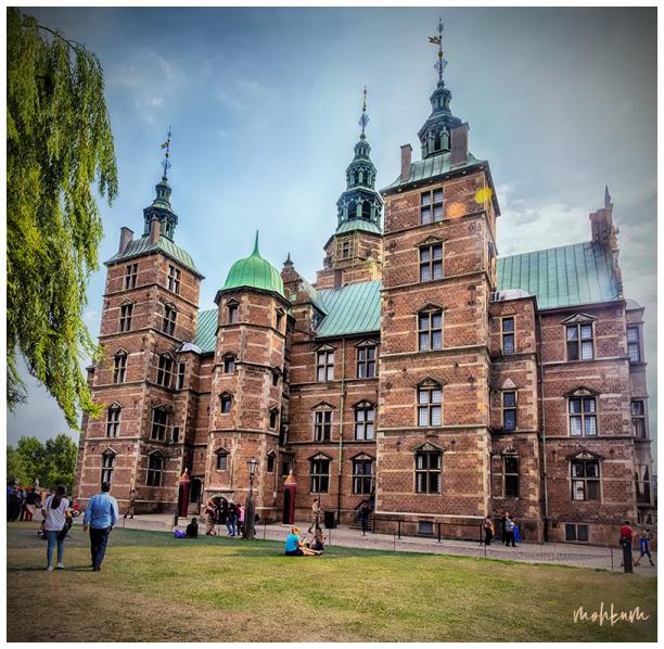 castle rosenberg copenhagen denmark