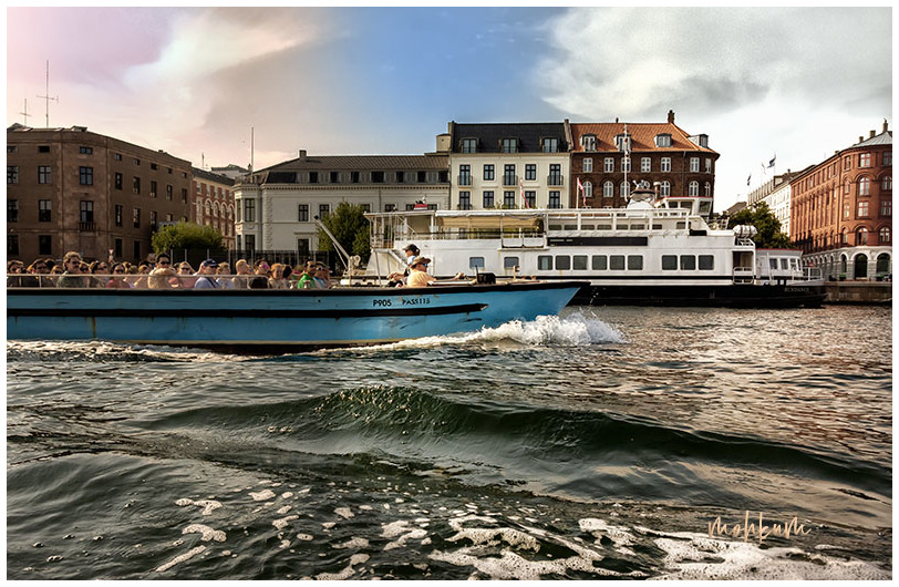 canal boating copenhagen denmark