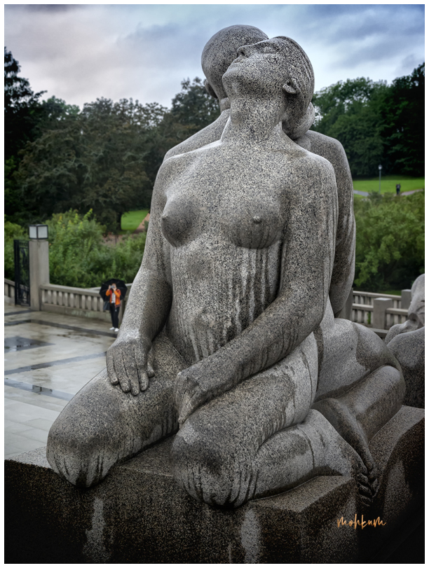 gustav vigeland park sculpture norway