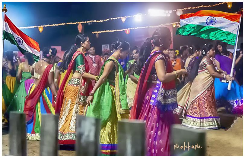 india independance people celebration