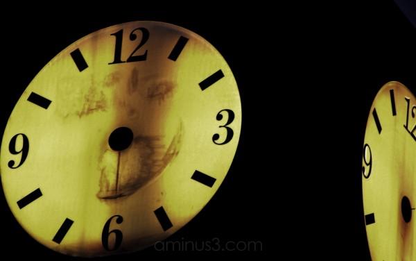 clock sans hands
