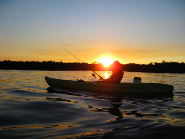 Kayaking Sunset