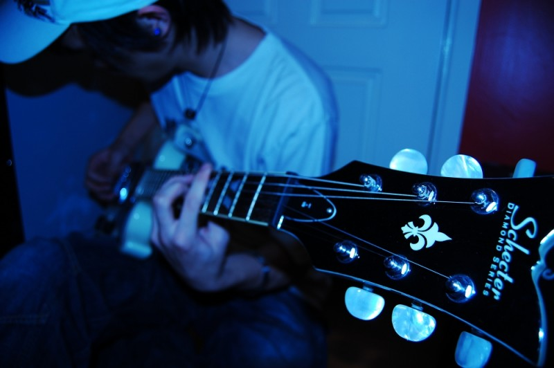 Donny the rockstar. And my beautiful guitar.