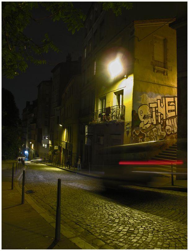 lyon night street