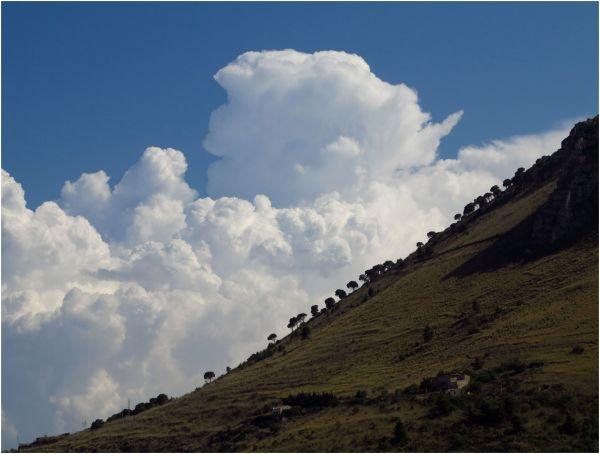 Sicilia sky clouds