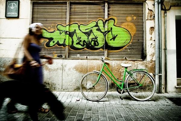 grafity, bici
