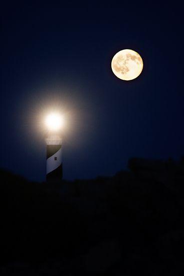 Iluminando a la luna