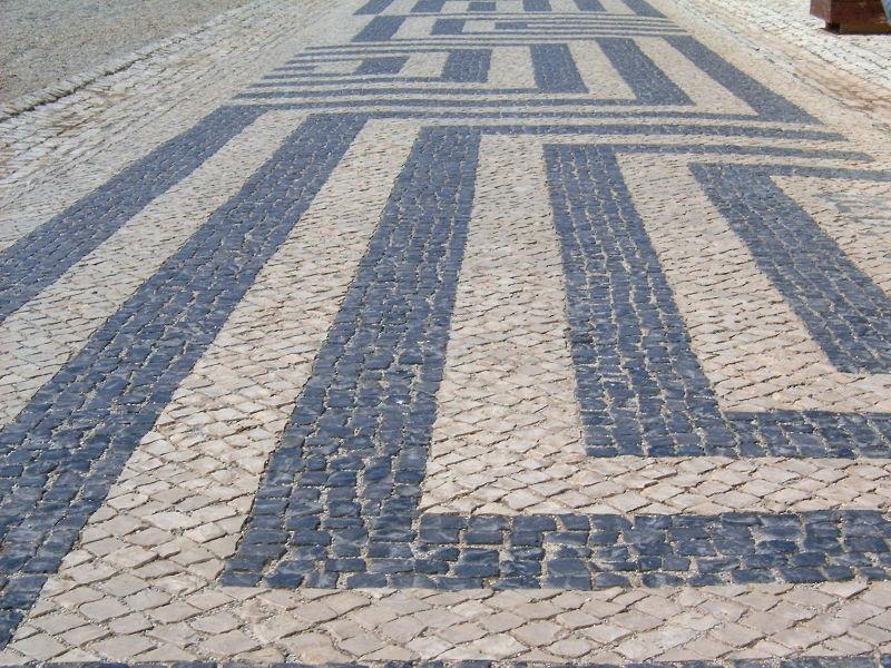 Calçada angular