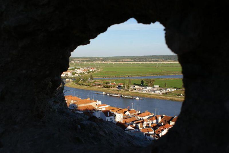 Janela aberta para o rio sado