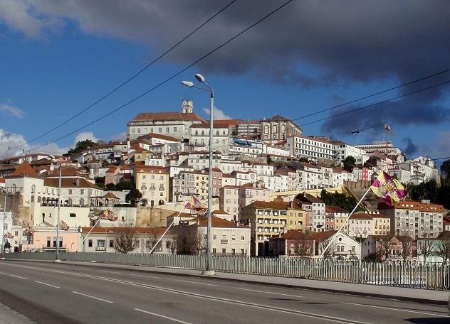 a cidade de Coimbra