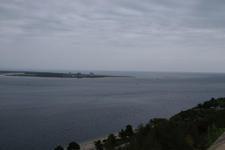 A península de Tróia