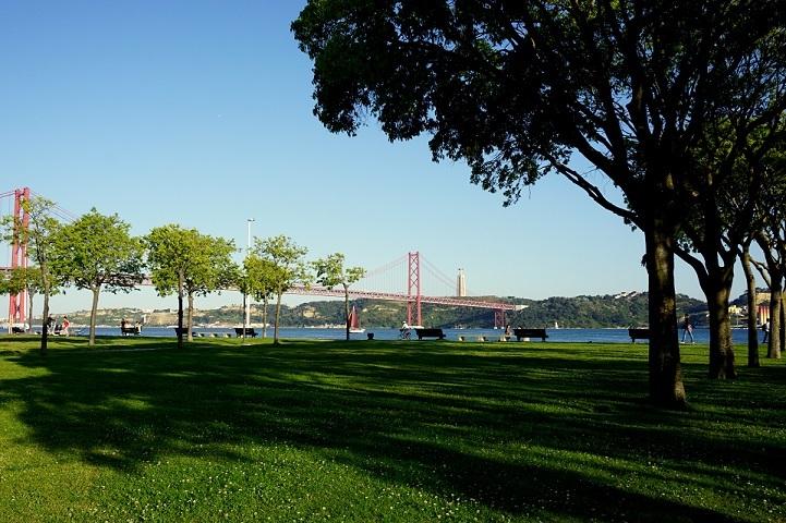 Lisboa e o rio Tejo