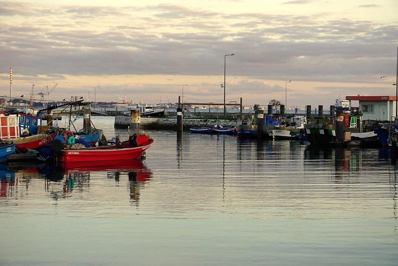 A doca dos pescadores
