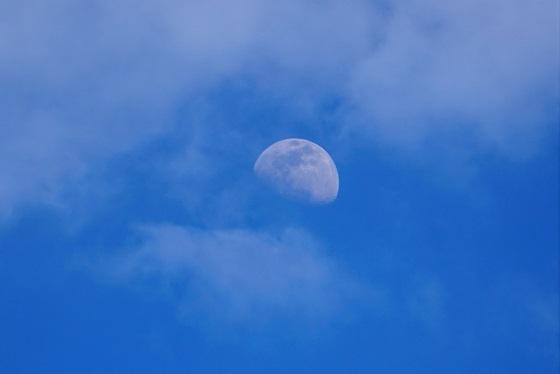 A Lua de domingo