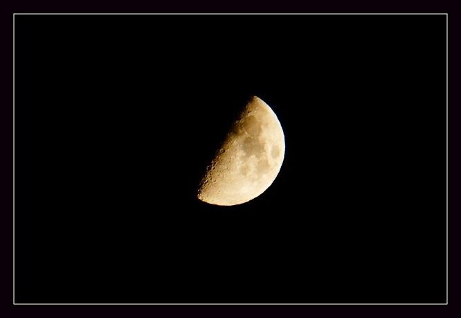 Só tenho metade da Lua