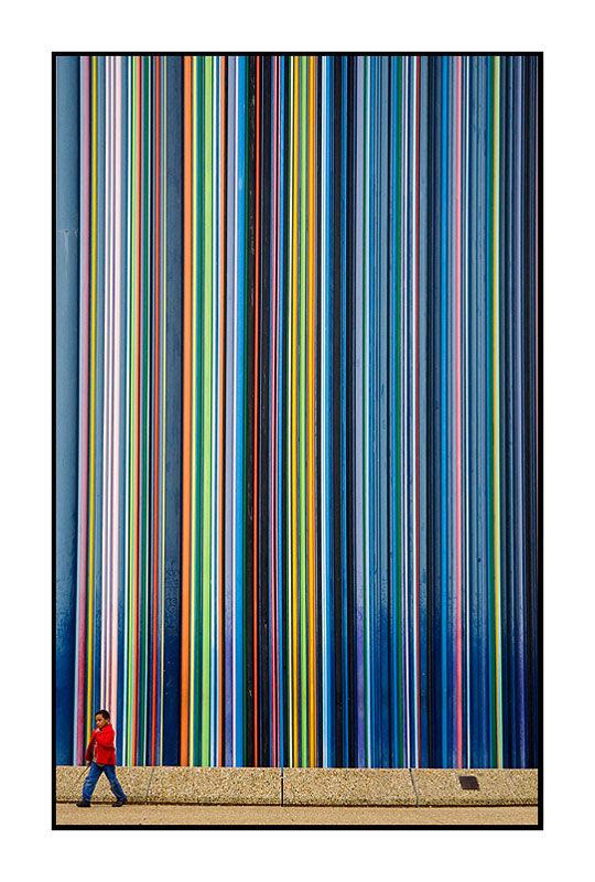 Les crayons de couleur du géant