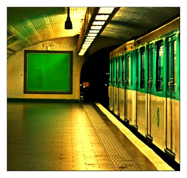 Vert métro