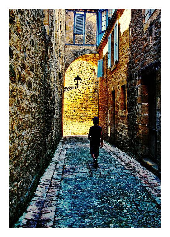 Dans les vieilles ruelles de Sarlat