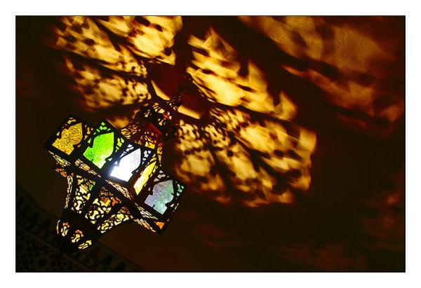 Lampe à la mosquée