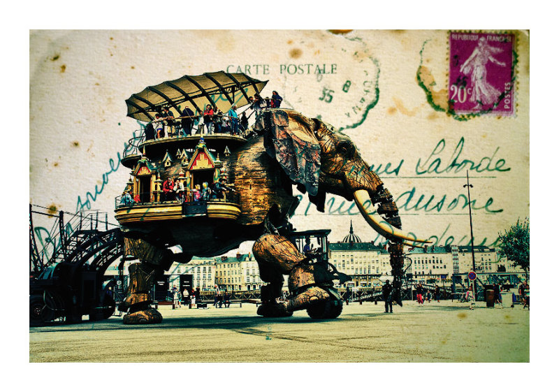 Nantes, Machines en l