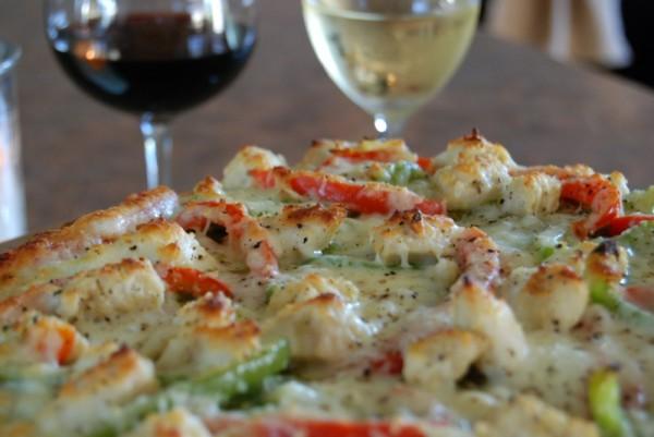 Delicious Italian Chicken Pizza