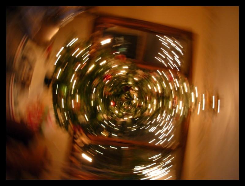 Christmas Tree Spinning