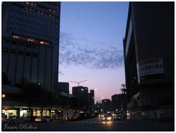 Kanazawa at Dusk