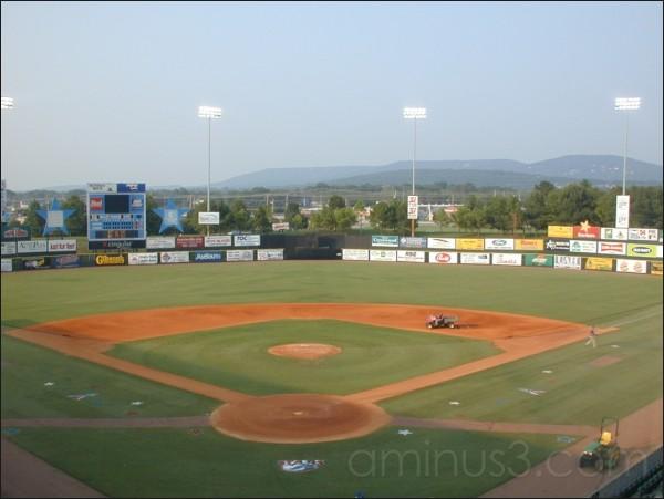 Stars baseball stadium, Huntsville, AL. 07/2002