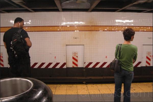 14th St. subway station, New York, NY. 07/2006